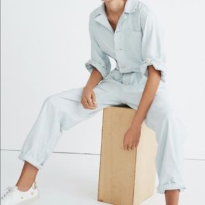 NWT Madewell as ever coverall jumpsuit